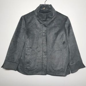 Carlisle Button Front Soft 3/4 Sleeve Jacket Lined